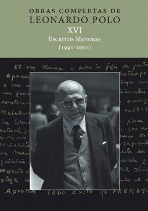 (L.P. XVI) ESCRITOS MENORES (1991-2000)