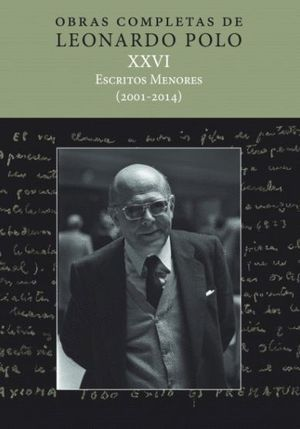(L.P. XXVI) ESCRITOS MENORES (2001-2014)