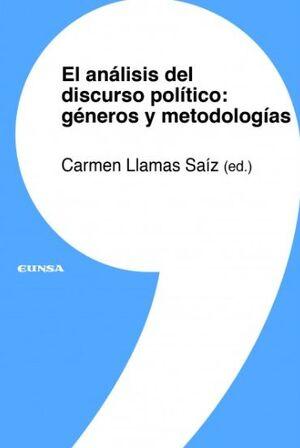 EL ANÁLISIS DEL DISCURSO POLÍTICO: GÉNEROS Y METODOLOGÍAS