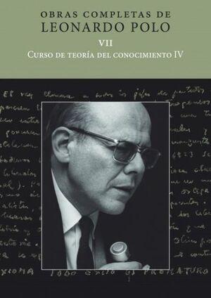 CURSO DE TEORÍA DEL CONOCIMIENTO IV