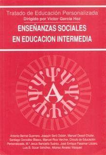 ENSEÑANZAS SOCIALES EN EDUCACIÓN INTERMEDIA