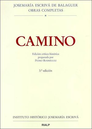 CAMINO. ED. CRÍTICO-HISTÓRICA