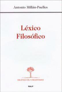 LÉXICO FILOSÓFICO