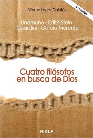 CUATRO FILÓSOFOS EN BUSCA DE DIOS
