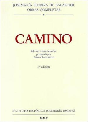 CAMINO. EDICIÓN CRTICO-HISTÓRICA