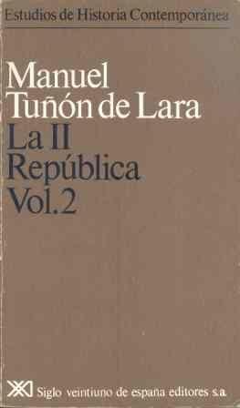 LA II REPÚBLICA. VOL. 2
