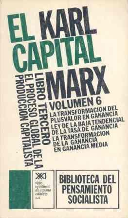 EL CAPITAL. LIBRO TERCERO, VOL. 6.