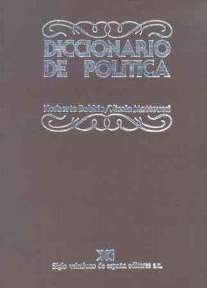 DICCIONARIO DE POLÍTICA. L-Z