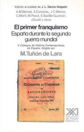 EL PRIMER FRANQUISMO