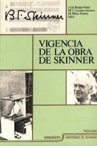 VIGENCIA DE LA OBRA DE SKINNER