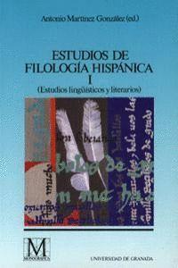 ESTUDIOS DE FILOLOGÍA HISPÁNICA I