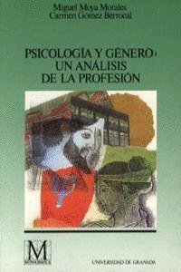 PSICOLOGÍA Y GÉNERO: UN ANÁLISIS DE LA PROFESIÓN