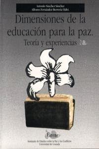 DIMENSIONES DE LA EDUCACIÓN PARA LA PAZ