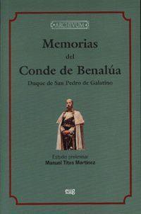 MEMORIAS DEL CONDE DE BENALÚA