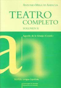 TEATRO COMPLETO (VOL. X)