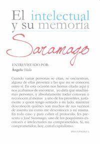 INTELECTUAL Y SU MEMORIA SARAMAGO