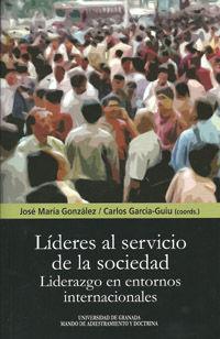 LIDERES AL SERVICIO DE LA SOCIEDAD