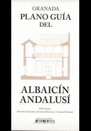 GRANADA. PLANO GUÍA DEL ALBAICÍN ANDALUSÍ