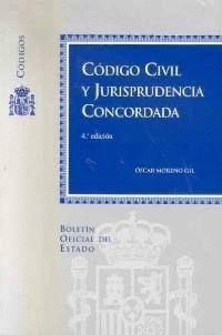 CÓDIGO CIVIL Y JURISPRUDENCIA CONCORDADA
