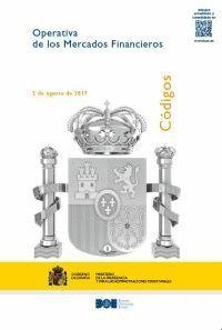 OPERATIVA DE LOS MERCADOS FINANCIEROS