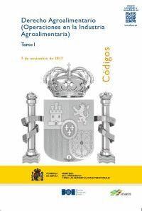DERECHO AGROALIMENTARIO (OPERACIONES EN LA INDUSTRIA AGROALIMENTARIA) (TRES TOMOS)