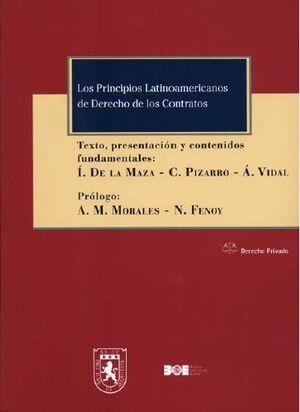 LOS PRINCIPIOS LATINOAMERICANOS DE DERECHO DE LOS CONTRATOS