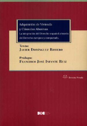 ADQUISICION DE VIVIENDAS Y CLAUSULAS ABUSIVAS