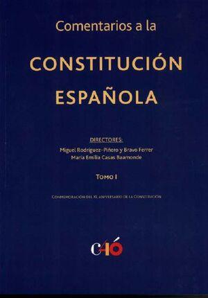 COMENTARIOS A LA CONSTITUCIÓN ESPAÑOLA