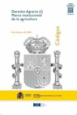 DERECHO AGRARIO (I) MARCO INSTITUCIONAL DE AGRICULTURA