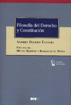 FILOSOFÍA DEL DERECHO Y CONSTITUCIÓN