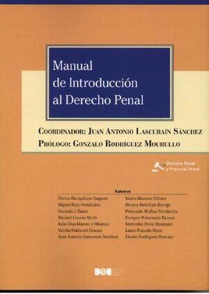 MANUAL DE INTRODUCCIÓN AL DERECHO PENAL