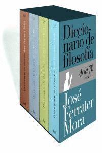 DICCIONARIO DE FILOSOFA (ESTUCHE) CON ESTUCHE DE CARTÓN