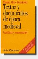TEXTOS Y DOCUMENTOS DE ÉPOCA MEDIEVAL