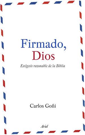 FIRMADO, DIOS