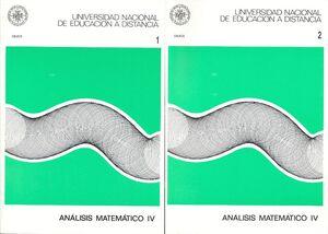 ANÁLISIS MATEMÁTICO IV