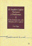 ANÁLISIS LÓGICO: NOCIONES Y PROBLEMAS II (UNA INTRODUCCIÓN A LA FILOSOFÍA DE LA LÓGICA)