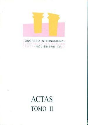 ACTAS DEL CONGRESO INTERNACIONAL