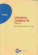 LITERATURA CATALANA III (SIGLO XX)