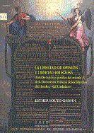 LA LIBERTAD DE OPINIÓN Y LIBERTAD RELIGIOSA (ESTUDIO HISTÓRICO-JURÍDICO DEL ART.10 DE LA DECLARACIÓN