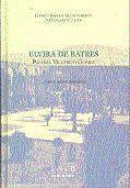 ELVIRA DE BATRES... Y OTROS RELATOS PREMIADOS. I CONCURSO DE RELATO BREVE. UNED PLASENCIA 2001.