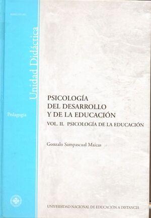 PSICOLOGÍA DEL DESARROLLO Y DE LA EDUCACIÓN. VOL-II. PSICOLOGÍA DE LA EDUCACIÓN