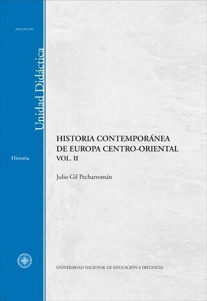 HISTORIA CONTEMPORÁNEA DE EUROPA CENTRO-ORIENTAL. VOL-II