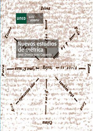 NUEVOS ESTUDIOS DE MÉTRICA