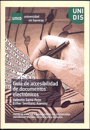 GUÍA DE ACCESIBILIDAD DE DOCUMENTOS ELECTRÓNICOS