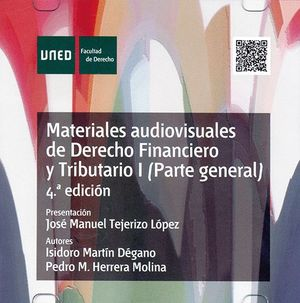 MATERIALES AUDIOVISUALES DE DERECHO FINANCIERO Y TRIBUTARIO I (PARTE GENERAL)