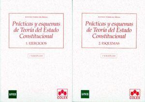 PRÁCTICAS Y ESQUEMAS DE TEORÍA DEL ESTADO CONSTITUCIONAL