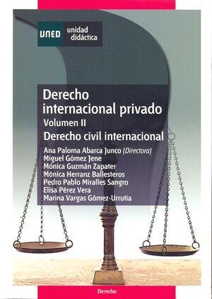 DERECHO INTERNACIONAL PRIVADO. VOLUMEN II