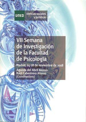 VII SEMANA DE INVESTIGACIÓN DE LA FACULTAD DE PSICOLOGÍA