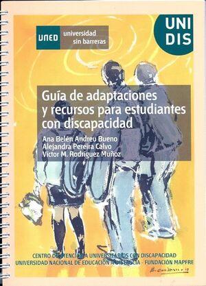 GUÍA DE ADAPTACIONES Y RECURSOS PARA ESTUDIANTES CON DISCAPACIDAD