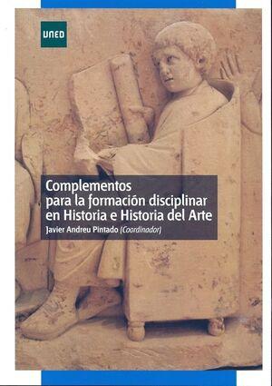 COMPLEMENTOS PARA LA FORMACIÓN DISCIPLINAR EN HISTORIA E HISTORIA DEL ARTE
